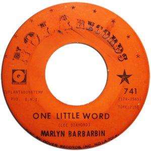 BARBARBIN MARLYN 68 A