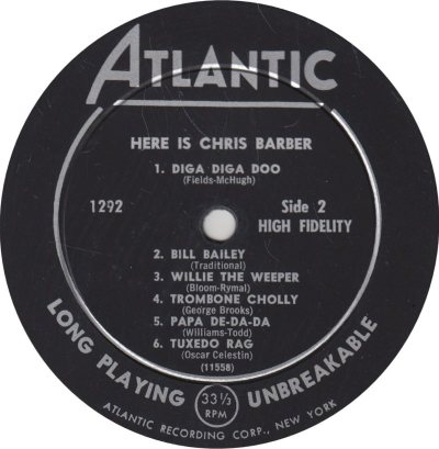 BARBER CHRIS - 02 B