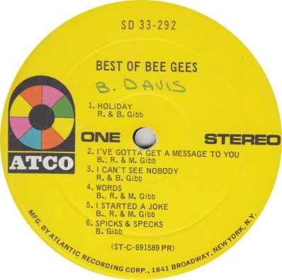 BEE GEES - 05 A