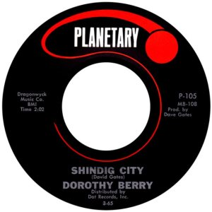 BERRY DOROTHY - 65 A