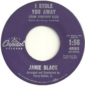 BLACK JANIE 61 B