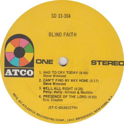BLIND FAITH 02 A