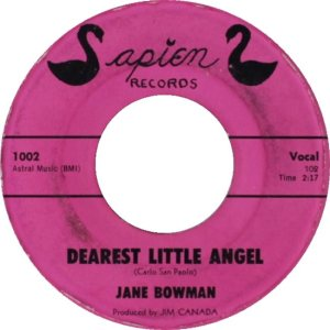 BOWMAN JANE - 61 A