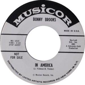 BROOKS BONNY 62 A