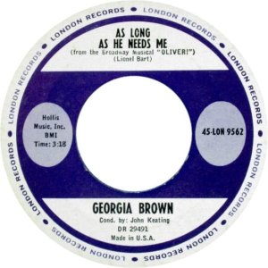 BROWN GEORGA 62 A