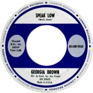 BROWN GEORGA 62 B