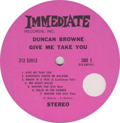 BROWNE DUNCAN 01 A
