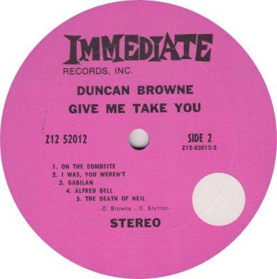 BROWNE DUNCAN 01 B