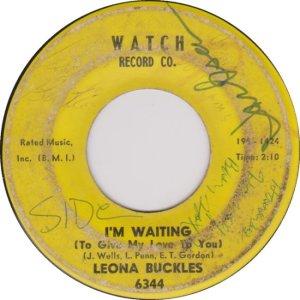 BUCKLES LEONA 65 B