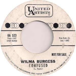 BURGESS WILMA 0 62 A