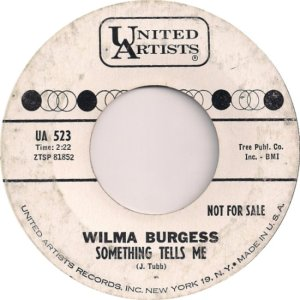 BURGESS WILMA 0 62 B