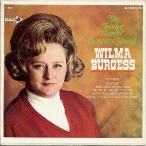 BURGESS WILMA - 68 EP