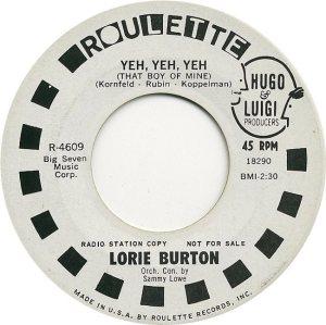 BURTON LORIE 65 A