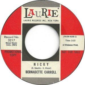 CARROLL BERNADETTE 64
