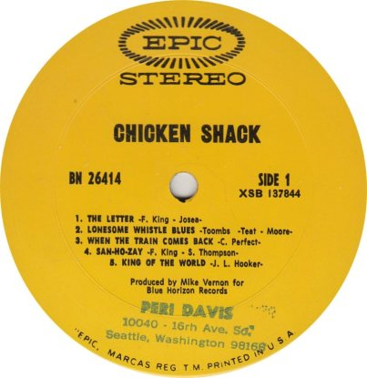 CHICKEN SHACK - 01 A