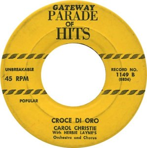 CHRISTIE CAROL 56 A