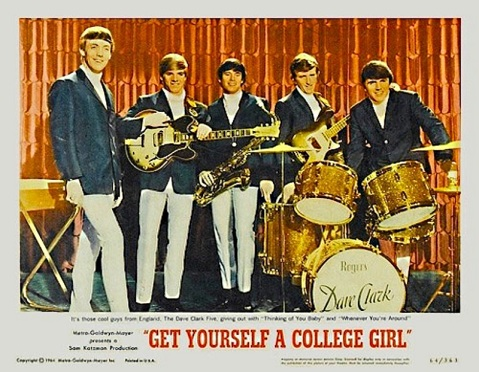 CLARK FIVE COLLEGE GIRL POSTER