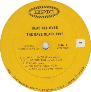 CLARK FIVE DAVE 01 A