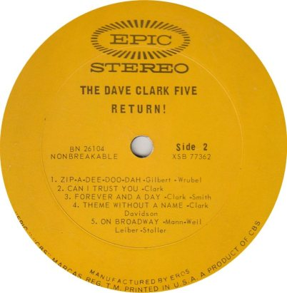 CLARK FIVE DAVE 02 B