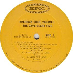 CLARK FIVE DAVE 03 A