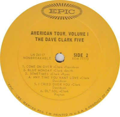 CLARK FIVE DAVE 03 B