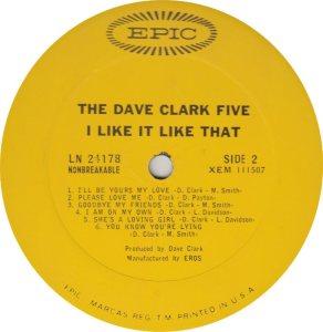 CLARK FIVE DAVE 06 B