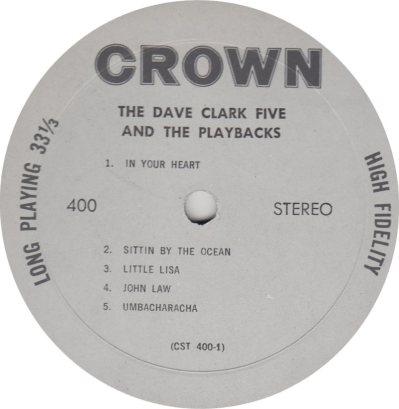 CLARK FIVE DAVE 07 A
