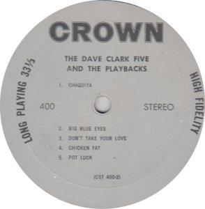 CLARK FIVE DAVE 07 B