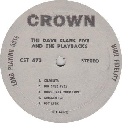 CLARK FIVE DAVE 10 A