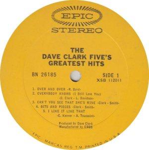 CLARK FIVE DAVE 11 A