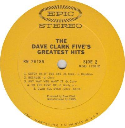 CLARK FIVE DAVE 11 B
