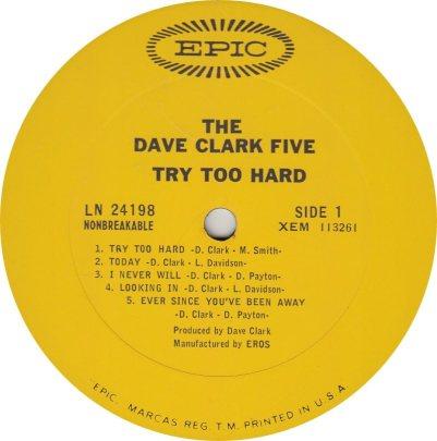 CLARK FIVE DAVE 12 A