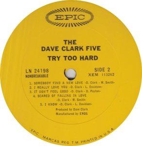 CLARK FIVE DAVE 12 B