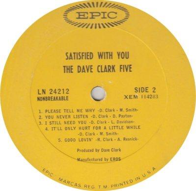 CLARK FIVE DAVE 13 B