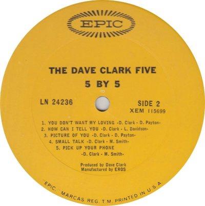 CLARK FIVE DAVE 14 B