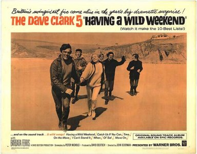 CLARK FIVE DAVE - WILD WEEKEND POSTER 1