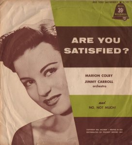COLBY MARION - 1958 X 01 A