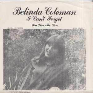 COLEMAN BELINDA - 1960'S 01 A