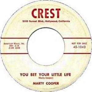 COOPER - CREST 1958