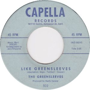 COOPER - GREENSLEEVES 6-62