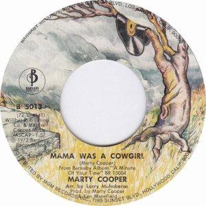COOPER MARTY - BARNABY 3-73 B