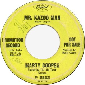 COOPER MARTY -CAPITOL 2-67 A