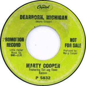 COOPER MARTY -CAPITOL 2-67 B