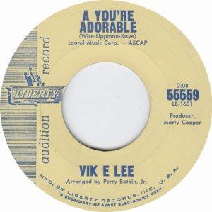 COOPER - VIK E LEE 4-63 B