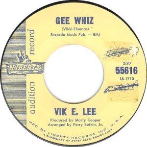 COOPER - VIK E LEE 9-63 B