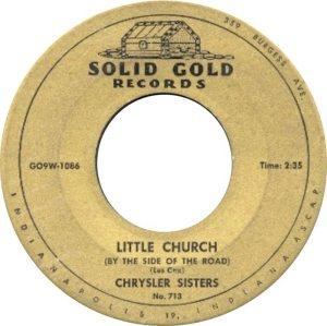 CRYSLER SISTERS 56 B
