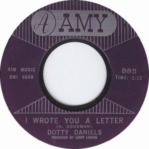 DANIELS DOTTIE - 63 A