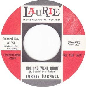 DARNELL LORRIE - 63 B