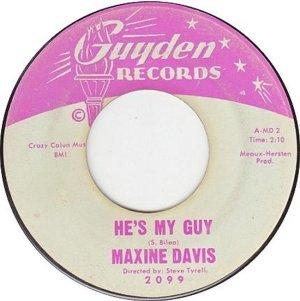 DAVIS MAXINE 63 A