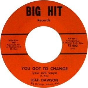 DAWSON LEAH - 68 A